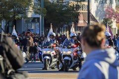 Rose Parade à Pasadena, la Californie, Etats-Unis - 1er janvier 2016 images libres de droits