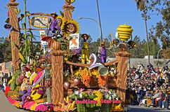 Rose Parade Bedtime Stories Float Royalty Free Stock Photography