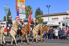 Rose Parade en Pasadena, California, los E.E.U.U. - 1 de enero de 2016 Fotos de archivo