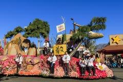 Rose Parade en Pasadena, California, los E.E.U.U. - 1 de enero de 2016 Imágenes de archivo libres de regalías