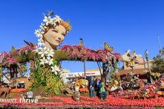 Rose Parade en Pasadena, California, los E.E.U.U. - 1 de enero de 2016 Fotografía de archivo
