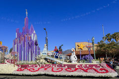 Rose Parade en Pasadena, California, los E.E.U.U. - 1 de enero de 2016 foto de archivo