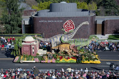 Rose Parade float Royalty Free Stock Photography