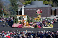 Rose Parade in front of Norton Simon museum Stock Photography
