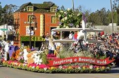 Rose Parade Inspiruje pławika Zdjęcie Stock