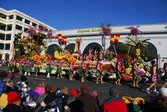 Rose Parade Pasadena 2011 stock photo