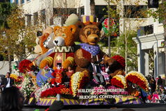 Rose Parade Pasadena 2011 Royalty Free Stock Photography