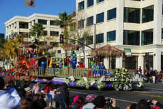Rose Parade Pasadena 2011 Royalty Free Stock Photos