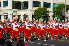 Rose Parade Pasadena 2011 Royalty Free Stock Photo