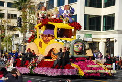 Rose Parade Pasadena 2011 Royalty Free Stock Image