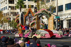 Rose Parade Pasadena 2011 Stock Image