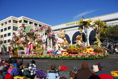 Rose Parade Pasadena 2011 Stock Photography