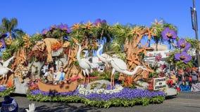 Rose Parade at Pasadena, California, USA - January 1, 2016 Royalty Free Stock Photos