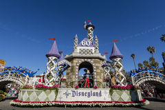 Rose Parade at Pasadena, California, USA - January 1, 2016 Royalty Free Stock Photo