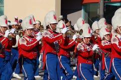 Rose Parade Pasadena marching band Stock Photos