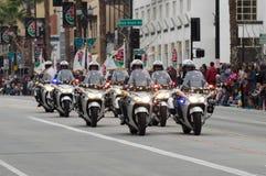 The Rose Parade in Pasadena Royalty Free Stock Photo