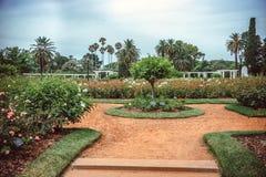 Rose Park on Parque Tres de Febrero royalty free stock photo