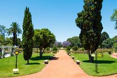 Rose Park (Rosedal), Buenos Aires Argentinien Stockfotos