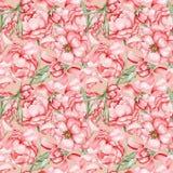 Rose Pattern d'annata illustrazione di stock