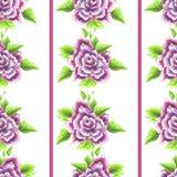 Rose Pattern d'annata seamless Fotografie Stock Libere da Diritti