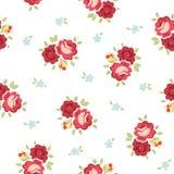 Rose Pattern d'annata senza cuciture Fotografie Stock Libere da Diritti