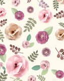 Rose Pattern Floral Texture Concept Immagini Stock