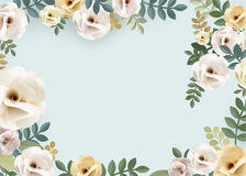 Rose Pattern Floral Texture Concept vektor abbildung