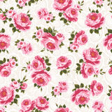 Rose pattern Stock Photos