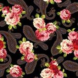 Rose pattern Stock Photo