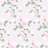 Rose pattern Stock Images