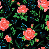 Rose pattern new 1-01 Royalty Free Stock Image