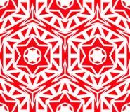 Rose Pattern rouge géométrique solide Photo libre de droits