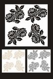Rose pattern seamless Royalty Free Stock Image