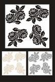 rose pattern seamless Royalty Free Stock Image
