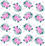 rose pattern seamless Royalty Free Stock Images