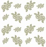 Rose pattern seamless Royalty Free Stock Photography