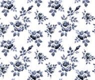 Rose pattern royalty free illustration