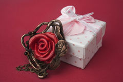 Rose pendenat Stock Images