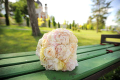 Rose and Peony Bouquet Royalty Free Stock Images