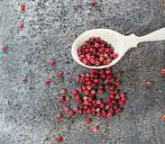 Rose pepper in abstract background. Rose pepper in grunge background Royalty Free Stock Image