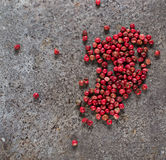 Rose pepper in abstract background Royalty Free Stock Images
