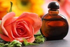 Rose Perfume royalty-vrije stock foto's