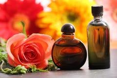 Rose Perfume stock fotografie