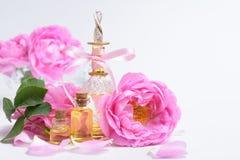 Rose Perfume Arkivfoton