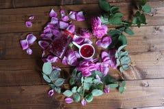 Rose Petal Jam royaltyfri fotografi