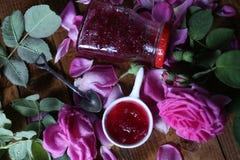 Rose Petal Jam arkivfoton