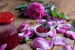 Rose Petal Jam fotografia stock