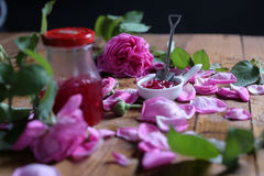 Rose Petal Jam immagini stock libere da diritti