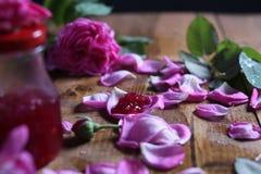 Rose Petal Jam stock fotografie