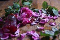 Rose Petal Jam royaltyfria bilder
